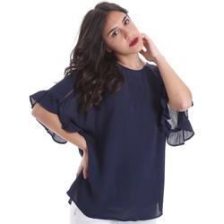 Textil Ženy Halenky / Blůzy Gaudi 011BD45015 Modrý