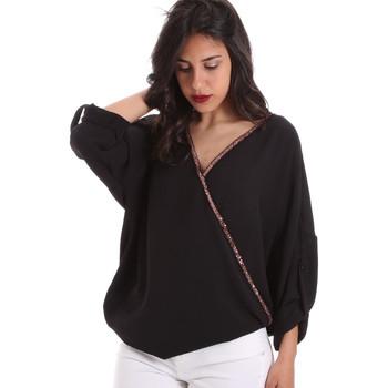 Textil Ženy Halenky / Blůzy Gaudi 011BD45026 Černá