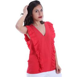 Textil Ženy Halenky / Blůzy Gaudi 011BD45031 Červené