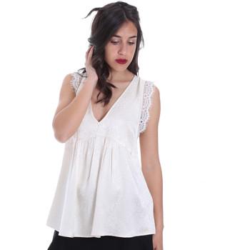 Textil Ženy Halenky / Blůzy Gaudi 011FD45026 Béžový