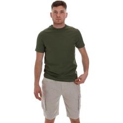 Textil Muži Trička s krátkým rukávem Sseinse ME1548SS Zelený