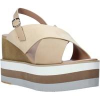 Boty Ženy Sandály Onyx S20-SOX758 Béžový