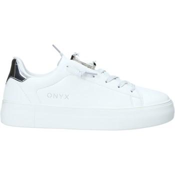 Boty Ženy Nízké tenisky Onyx S20-SOX701 Stříbrný