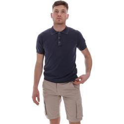 Textil Muži Polo s krátkými rukávy Sseinse ME1513SS Modrý