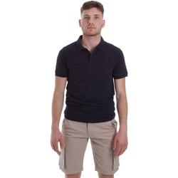 Textil Muži Polo s krátkými rukávy Sseinse ME1517SS Modrý