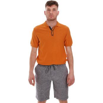 Textil Muži Polo s krátkými rukávy Sseinse ME1528SS Oranžový