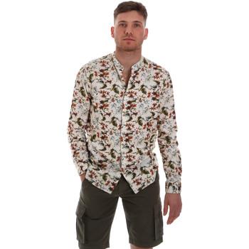 Textil Muži Košile s dlouhymi rukávy Sseinse CE526SS Béžový