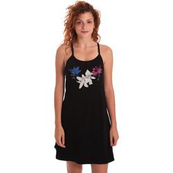 Textil Ženy Krátké šaty Key Up 5G30L 0001 Černá