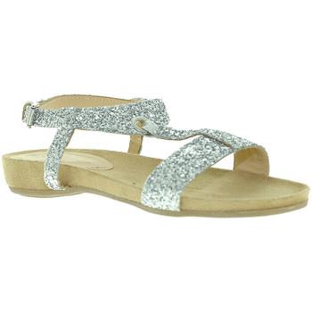 Boty Ženy Sandály Mally 4681 Stříbrný