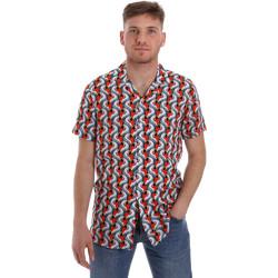 Textil Muži Košile s krátkými rukávy Sseinse CE516SS Bílý