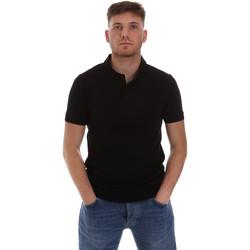 Textil Muži Polo s krátkými rukávy Sseinse ME1517SS Černá