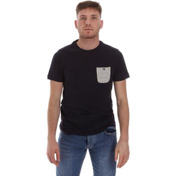 Textil Muži Trička s krátkým rukávem Sseinse ME1588SS Modrý