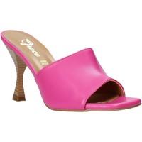 Boty Ženy Dřeváky Grace Shoes 6293Y014 Růžový