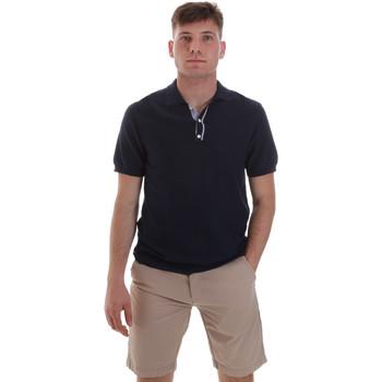 Textil Muži Polo s krátkými rukávy Sseinse ME1528SS Modrý