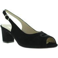 Boty Ženy Sandály Melluso S615 Černá