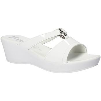 Boty Ženy Dřeváky Susimoda 173643 Bílý