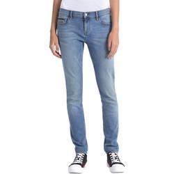 Textil Ženy Rifle Calvin Klein Jeans J20J206356 Modrý
