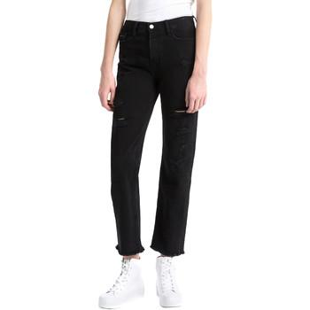 Textil Ženy Rifle boyfriend Calvin Klein Jeans J20J207108 Černá