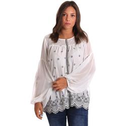 Textil Ženy Halenky / Blůzy Smash S1887419 Bílý