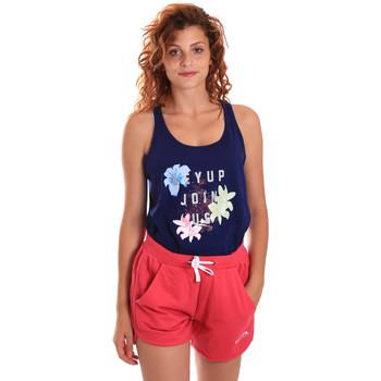 Textil Ženy Teplákové soupravy Key Up 5K78A 0001 Modrý
