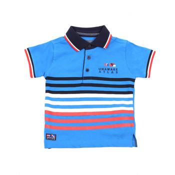 Textil Děti Polo s krátkými rukávy Losan 015-1037AL Modrý