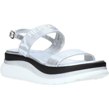 Boty Ženy Sandály Replay GWP4V 251 C0003S Stříbrný