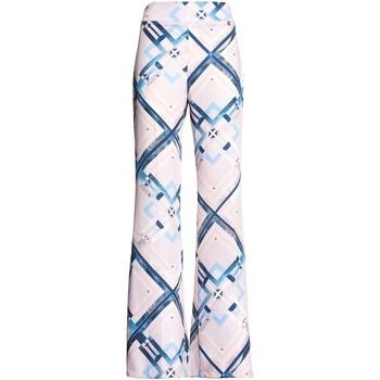Textil Ženy Turecké kalhoty / Harémky Fracomina FR20SM042 Růžový