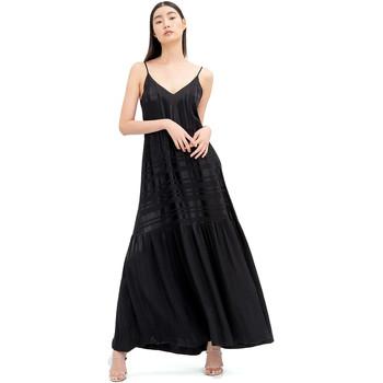 Textil Ženy Společenské šaty Fracomina FR20SM546 Černá