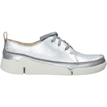 Boty Ženy Nízké tenisky Clarks 26138898 Stříbrný
