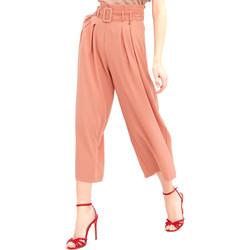Textil Ženy Turecké kalhoty / Harémky Fracomina FR20SM644 Růžový
