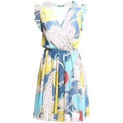 Textil Ženy Krátké šaty Fracomina FR20SM562 Modrý
