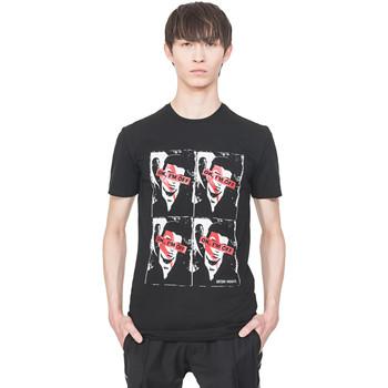 Textil Muži Trička s krátkým rukávem Antony Morato MMKS01743 FA120001 Černá