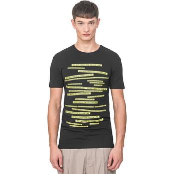 Textil Muži Trička s krátkým rukávem Antony Morato MMKS01749 FA120001 Černá