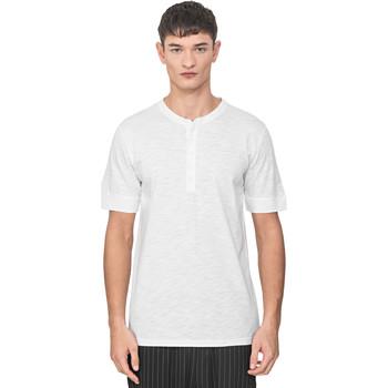 Textil Muži Trička s krátkým rukávem Antony Morato MMKS01725 FA100139 Bílý