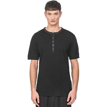 Textil Muži Trička s krátkým rukávem Antony Morato MMKS01725 FA100139 Černá