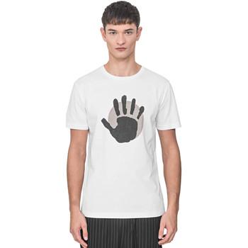 Textil Muži Trička s krátkým rukávem Antony Morato MMKS01765 FA100144 Bílý