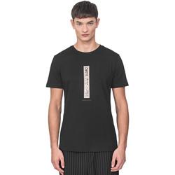 Textil Muži Trička s krátkým rukávem Antony Morato MMKS01766 FA100144 Černá