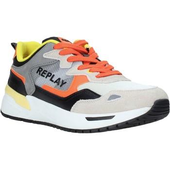 Boty Muži Nízké tenisky Replay GMS2L 240 C0001T Oranžový