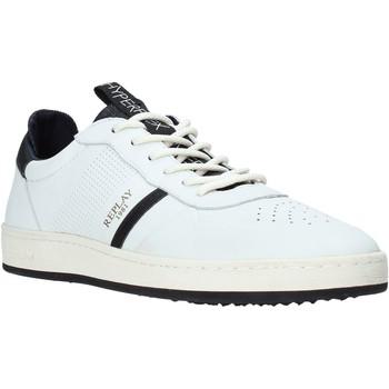 Boty Muži Nízké tenisky Replay GMZ52 240 C0021L Bílý