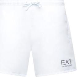 Textil Muži Plavky / Kraťasy Ea7 Emporio Armani 902000 CC721 Bílý