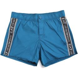 Textil Muži Plavky / Kraťasy Ea7 Emporio Armani 902039 0P734 Modrý
