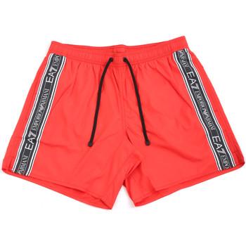 Textil Muži Plavky / Kraťasy Ea7 Emporio Armani 902000 0P734 Červené
