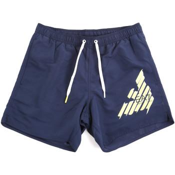 Textil Muži Plavky / Kraťasy Ea7 Emporio Armani 902000 0P724 Modrý