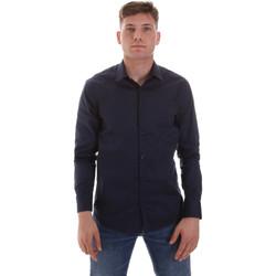 Textil Muži Košile s dlouhymi rukávy Sseinse CE506SS Modrý