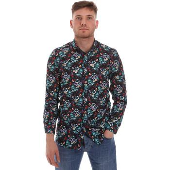 Textil Muži Košile s dlouhymi rukávy Sseinse CE509SS Modrý