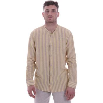Textil Muži Košile s dlouhymi rukávy Sseinse CE534SS Béžový