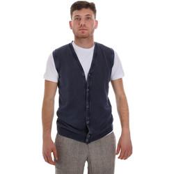 Textil Muži Svetry / Svetry se zapínáním Sseinse ME1512SS Modrý