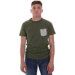 Textil Muži Trička s krátkým rukávem Sseinse ME1588SS Zelený