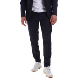 Textil Muži Oblekové kalhoty Sseinse PCE580SS Modrý