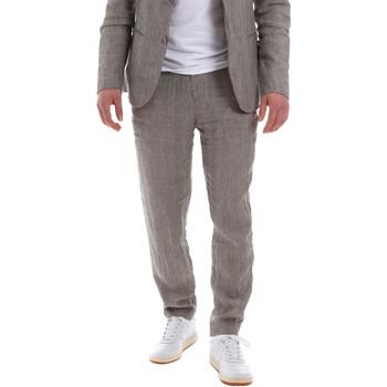 Textil Muži Oblekové kalhoty Sseinse PSE585SS Hnědý